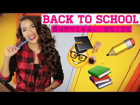 BACK TO SCHOOL: Survival Guide | Nikki Glamour