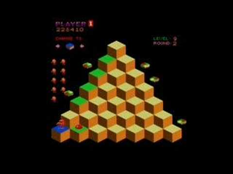 QBert Levels 8-9 - YouTube