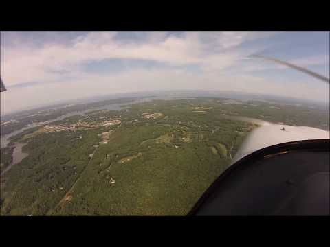 Flight Around Washington DC Special Flight Rules Area (SFRA)  Loop, 06-10-2016