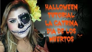 "Halloween Tutorial: ""La Catrina"" Dia de los Muertos