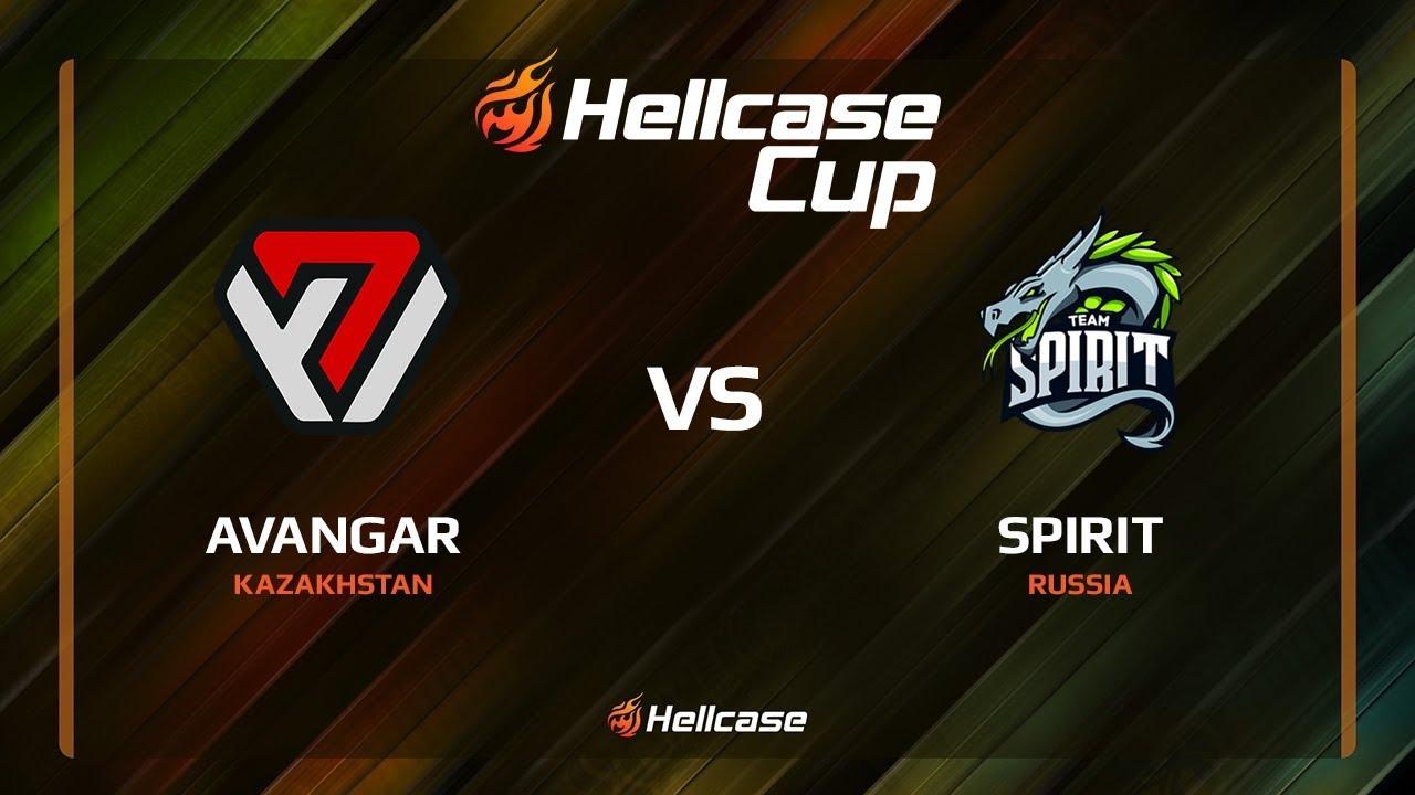 AVANGAR vs Spirit, cobblestone, Hellcase Cup 6
