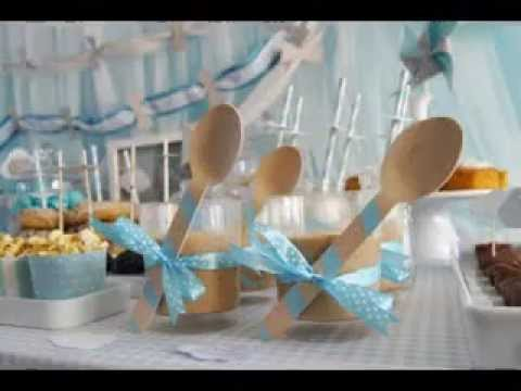 Easy diy baby shower balloon decorating ideas youtube for Baby shower decoration ideas homemade