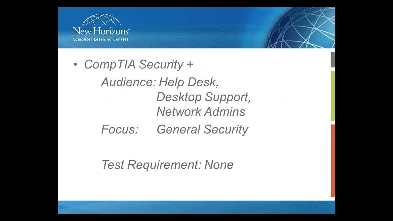 Webinar Top 3 Info Security Certifications Youtube