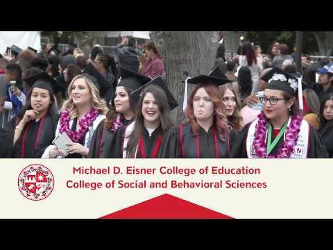 CSUN Commencement 2018: Education and Social & Behavioral Sciences II