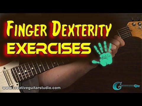 GUITAR TECHNIQUE: Finger Dexterity and Exercises
