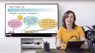 1.Sınıf Matematik Takvim-Gün Hafta Ay Konu Anlatımı-Uzaktan Eğitim