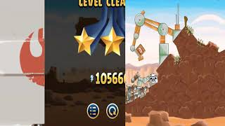 angry Birds Star Wars - All Levels Death Star Episode 3 Star Walkthrough 2-1 to 2-40