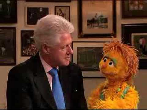President Clinton and Muppet Kami share HIV/AIDS message | UNICEF