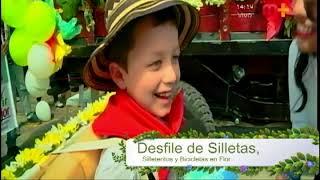 Desfile de Silletas, Silleteritos y Bicicletas en Flor - 19 de Agosto de 2018