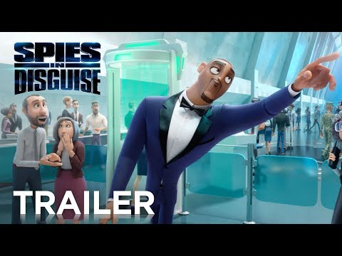 Patty Jackson: Patty TV - Spies in Disguise #SpiesinDisguise Trailer