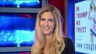 Ann Coulter talks health care, Trump's border wall