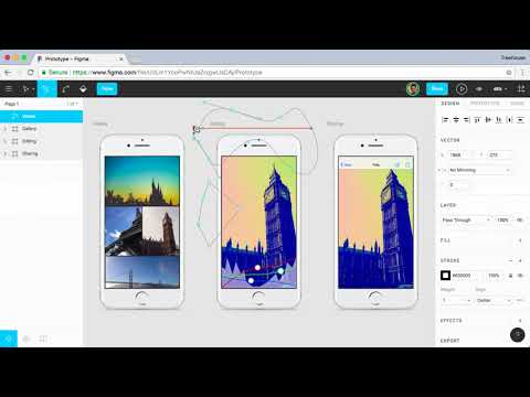 Learn how to create interactive and shareable prototypes in Figma