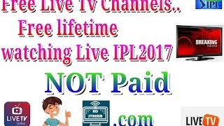 Free Live Tv Channels For lifetime April 2017 by HD STREAM Apk..