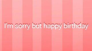 P O N E H [ Remake, Loop ] Happy Birthday :³
