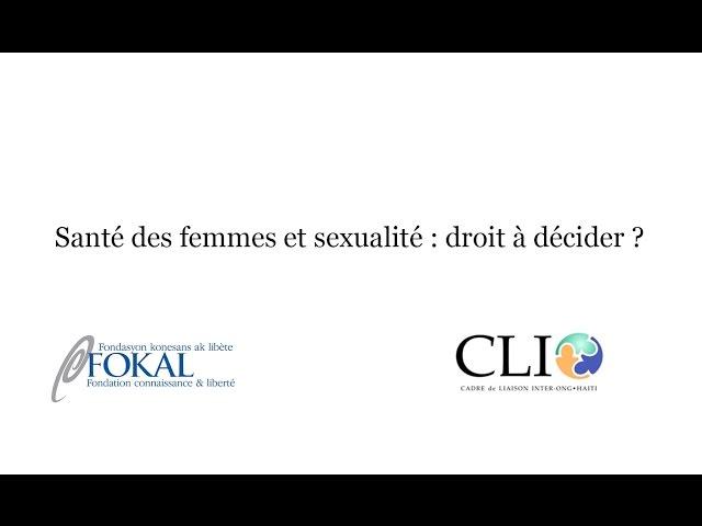 Quel droit à la santé pour les femmes en Haïti ?