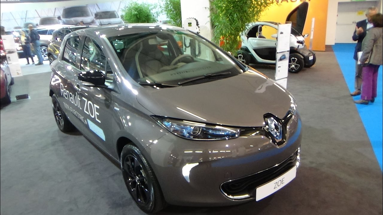 2017 renault zoe swiss edition r90 z e exterior and interior z rich car show 2017 youtube. Black Bedroom Furniture Sets. Home Design Ideas