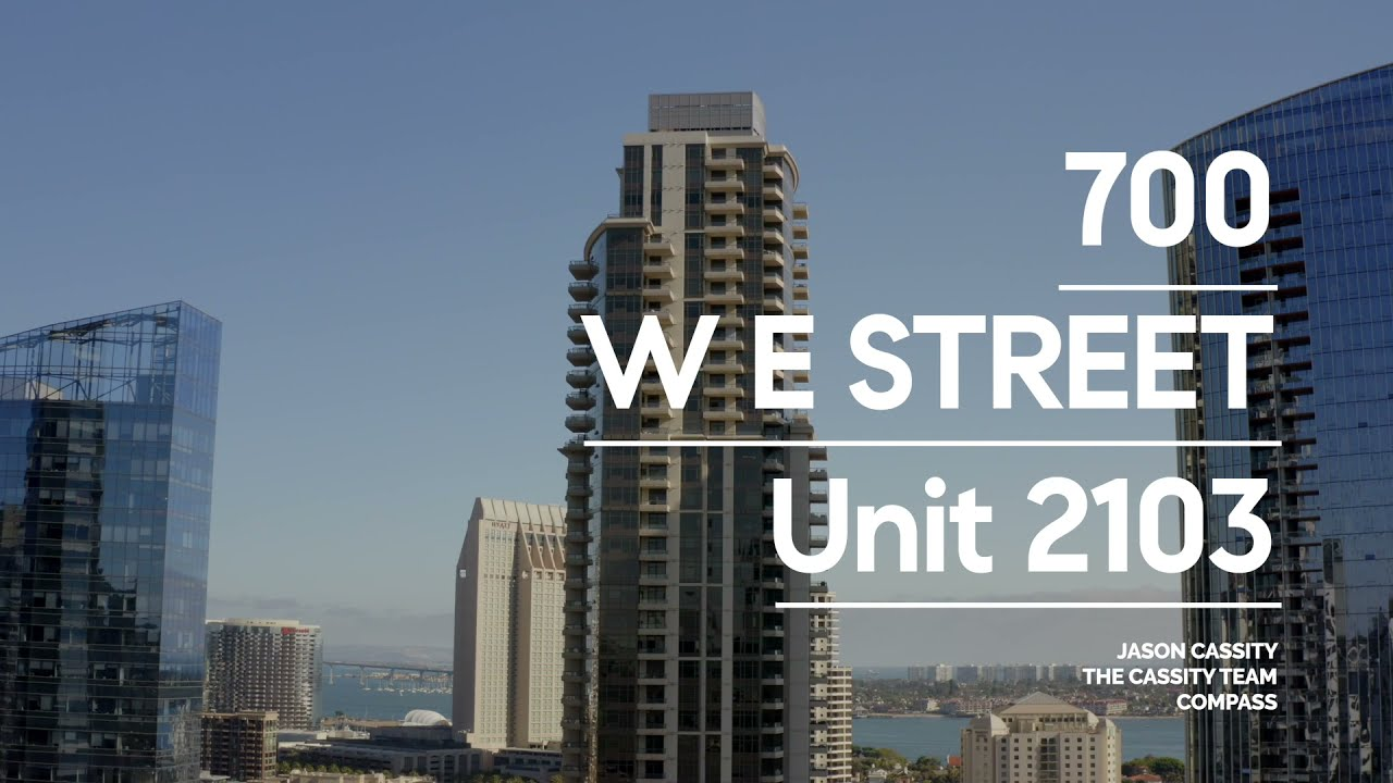 700 W E St #2103 | Electra Condos For Sale | Downtown San Diego Real Estate | The Cassity Team