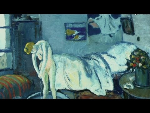 Picasso painting reveals hidden man - YouTube