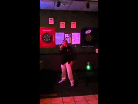 Me doing karaoke in NC