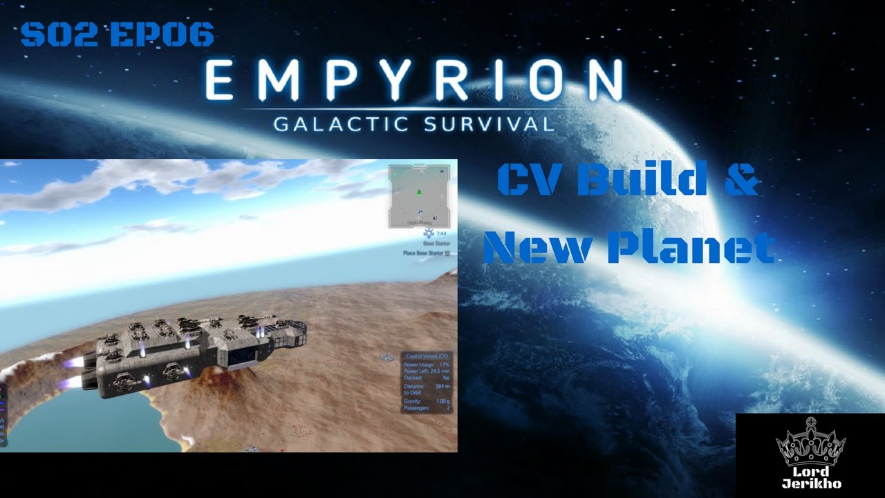 empyrion - galactic survival alpha 4 coop multiplayer s02 ep06  u0026quot cv build  u0026 new planet