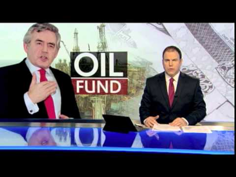Gordon Brown's oil fund - the ultimate contradiction