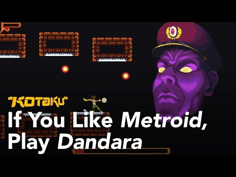 If You Like Metroid, Play Dandara