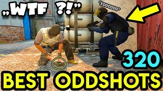 1% CHANCE THIS WILL HAPPEN AGAIN - CS:GO BEST ODDSHOTS #320