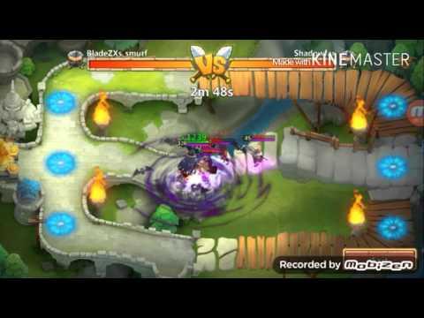 Castle Clash: Vlad Dracula Vs Skull Knight.