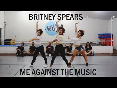 Me Against The Music (Original Choreography) - Britney Spears - Jazz Funk
