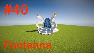 Fontanna w Minecraft   Pomysł na budowlę [#40]