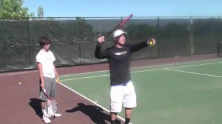 Tennis Tips:  Serve Progression