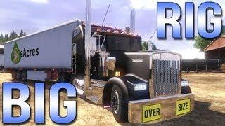 BIG RIG - Euro Truck Simulator 2 - Kenworth W900L