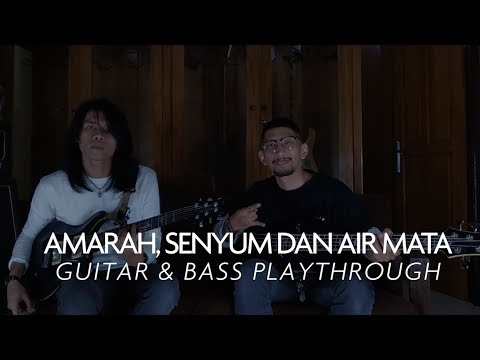 ALONE AT LAST - AMARAH, SENYUM DAN AIR MATA || GUITAR & BASS PLAYTHROUGH