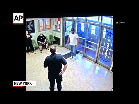 Manny's - VIDEO:  Calm NYC Cops Take Down Man with Knife Who Wanted to Be Shot