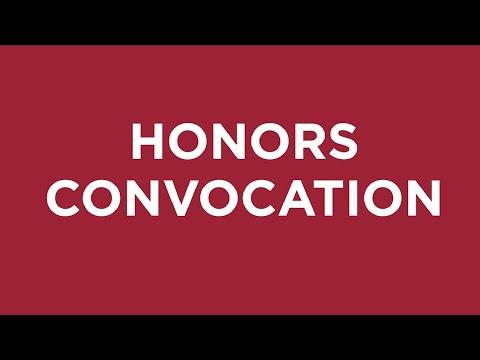 Honors Convocation Arcadia University