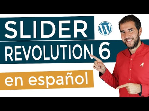 Tutorial SLIDER REVOLUTION 6  ¡En Español! (Plugin De WordPress)