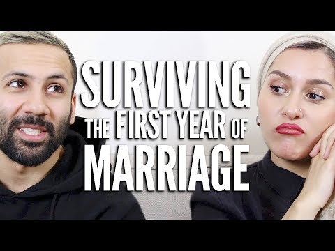 THE FIRST NIGHT AND SURVIVING THE FIRST YEAR OF MARRIAGE!