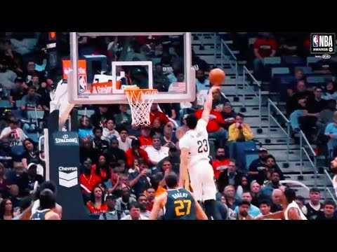 Anthony Davis   Kia Defensive Player of the Year Nominee   2018 NBA Awards