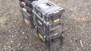 Dewalt Toughsystem vs Ridgid Pro grade modular toolboxes