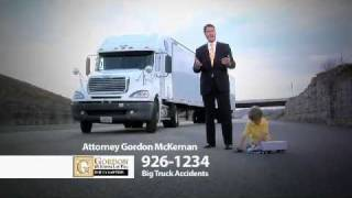Big Truck Accident Baton Rouge Personal Injury Lawyer - Gordon McKernan - I Got Gordon!