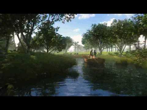 3D Architectural Animation - Dubai National Parks Masterplanning