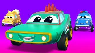 Малыши Машинки -  Малыши машинки ловят воришку! - Обучающие мультфильмы Автомобильного Города