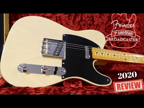 Should You Buy The New Broadcaster? | 2020 Fender 70th Anniversary Broadcaster Tele | Review Demo