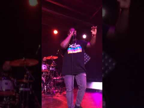 Xavier Omar performing If this is love at Warehouse Live