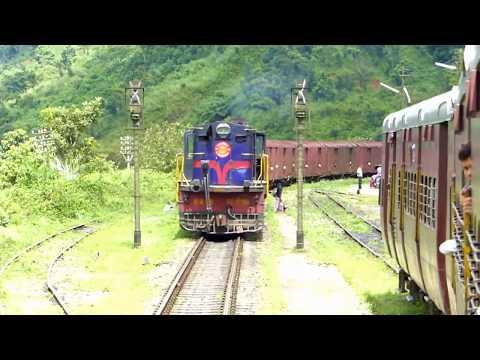 BYGONE Meter Gauge Train (North East India)   Indian Railways   NFR MG