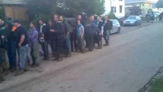 Jonschwil Sonisphere 2010: die Abreise nach der Schlammapokalypse