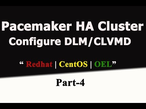 Redhat Pacemaker Cluster In RHEL7.2- DLM And CLVMD Configuration-Part- 4