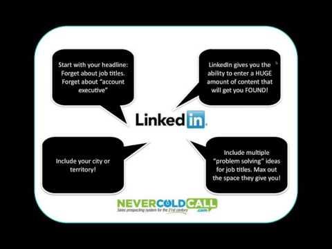 Never Cold Call Again® LinkedIn Workshop