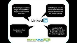 Never Cold Call Again® LinkedIn Workshop