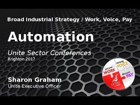 Unite Sectors 2017   AUTOMATION   Sharon Graham